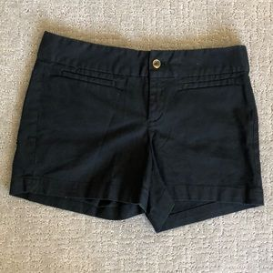 Banana Republic black shorts